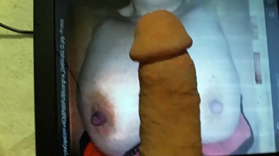 Cock Tribute With Cock..