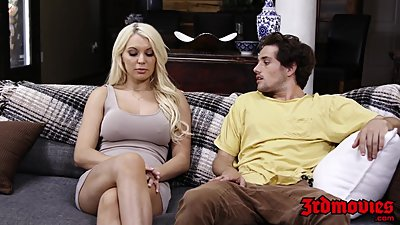 Busty Stepmom Kenzie Taylor Gets..