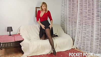 Shove your cock down my tight MILF..
