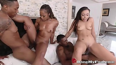 Fucked Up Ebony Family Reunion Turns..