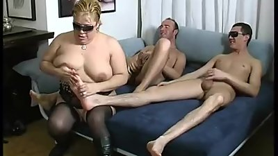 Depravate Italian FAMILY ORGY in..