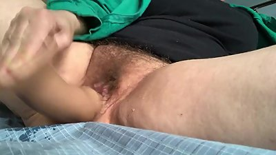 Squirting on my sheets