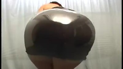 Big Japanese Booty Rubbing Against..