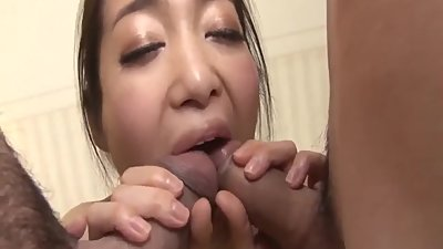 Ryu Enami enjoys plenty inches in her..
