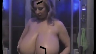 Big Tits Blonde Milf Showers
