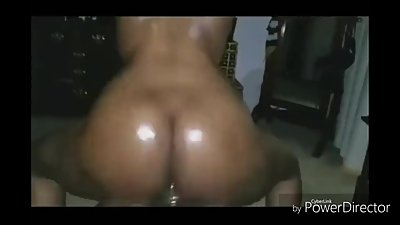 Twerking on cock