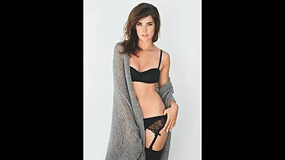 Cobie Smulders Jerk Off to the Beat..