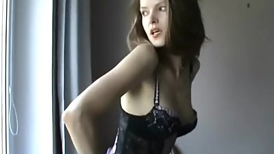 Beautiful Lady Suzanne - Window Wanker
