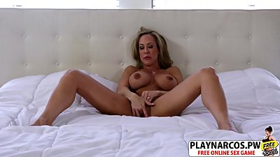 Gorgeous Mom Brandi Love Riding Cock..