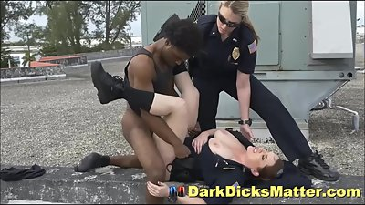 Voyeur Perp Stripped & Fucked By Dick..