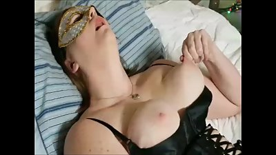 *Real Orgasms* Woman Masturbating on..