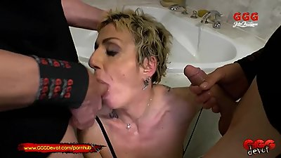 Mature German Mother loves younger..