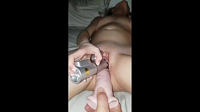 Wife take Dildo Dp...Need to give her..