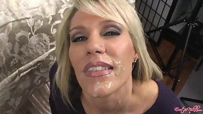Nikki Ashton smoking facial 3