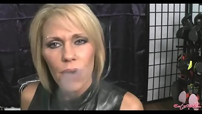 Nikki Ashton smoking facial 7