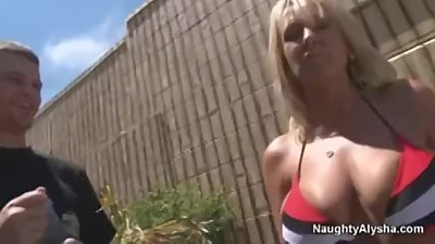 young guy and cuckold wife