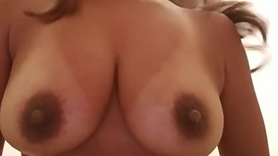 Playing with my boobs!