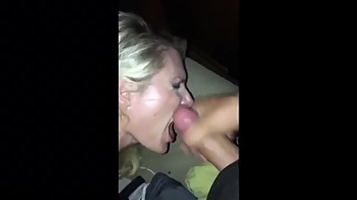 Kandy Kotoure sucking 2 cocks,..