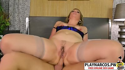 Sensuous Milf Catrina Costa Fucks Good..