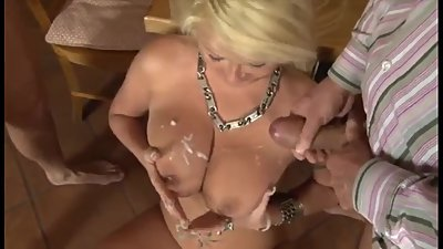 Cum Drenched Tits Compilation..