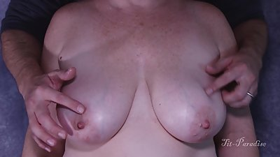 My Amazing BIG Natural Tits Wife Gets..