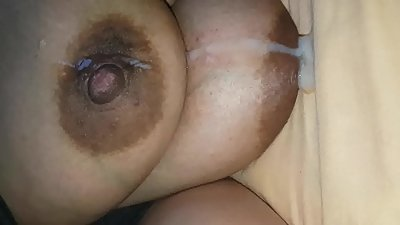 Spunk on my uk indian muslim big tits..