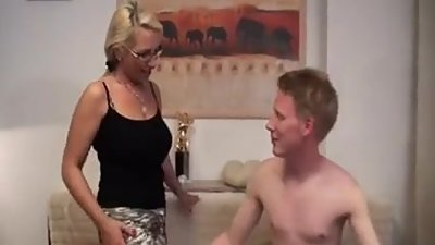 Sexy Russian Milf & Young Friend..
