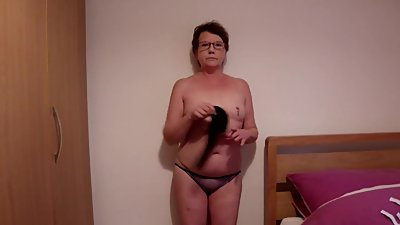 Naughty MILF Slow Striptease &..