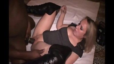 Amateur Milf Gets Stretched Out By A BBC