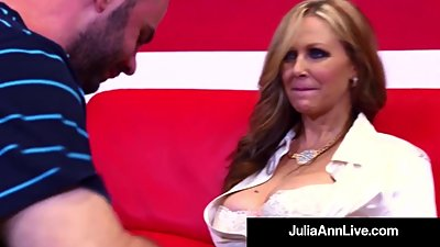 Hot Sex Hungry Milf Julia Ann Fucks..