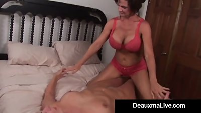 Busty Milf Deauxma Squirts in..