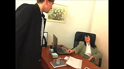 Mommy fucks even at work