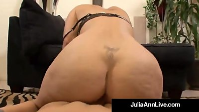 Horny Hot Milf Julia Ann Gets Doggy..
