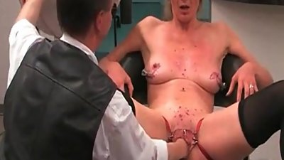 My Sexy Piercings BDSM Slave tortured..