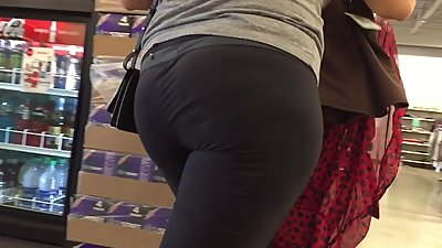 Spandex PAWGS Nice Asses Black Edition