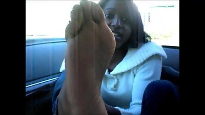 Angel Johnson Blue Toes