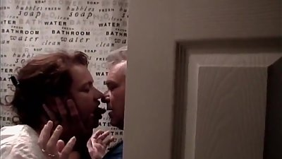 My MILF Wife Behind Door,Kissing A..