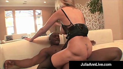 Mega Milf Julia Ann Does Interracial..