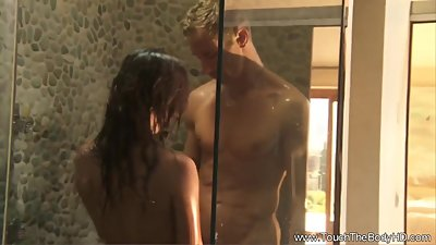 Asian MILF Sucks and Fucks Outdoors