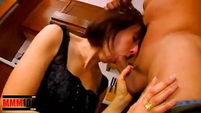 Mature housewife ass fucked in the..