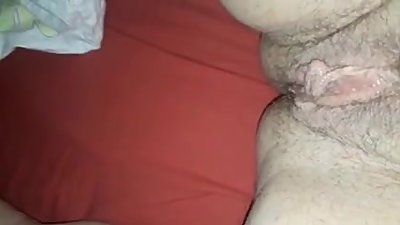 50 year old milf playing with her pussy