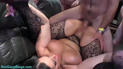 busty german Milf extreme banged