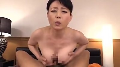 Japanese mom seduces daughter's..
