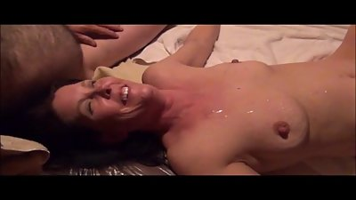 Cuckolds woman is rutted like a whore..