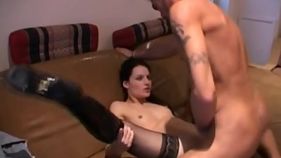 Brunette Dutch Girl Deep Fucking