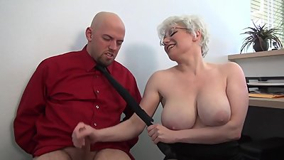 Bbw big tits handjob 1652 with