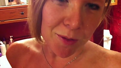 Mature woman with huge boobs