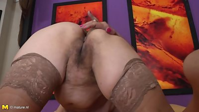 Granny anal sex lover with old hairy..