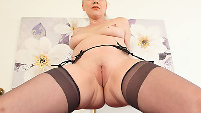 English milf Abi needs getting off for..
