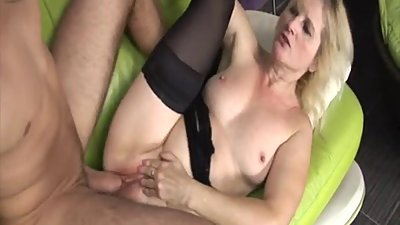 Hot blonde Milf fucked by horny guy